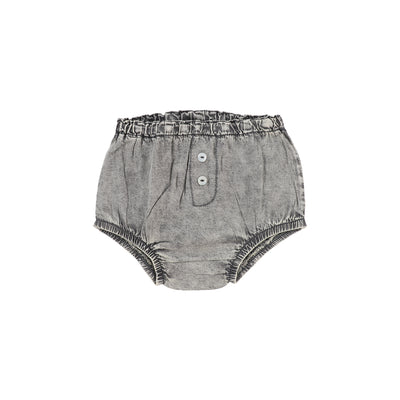 Analogie Denim Bloomers - Grey Wash
