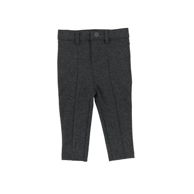 Lil Legs Boys Stretch Pants - Heather Gray