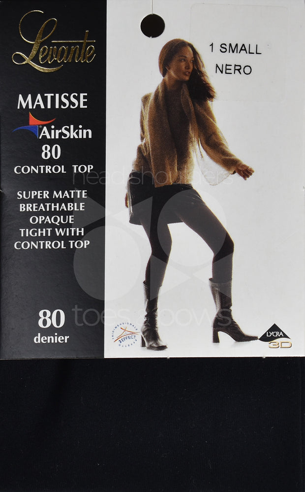 Levante Matisse Airskin 80 Denier Control Tights