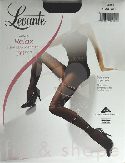 Levante Relax Firm 30 Denier Stockings