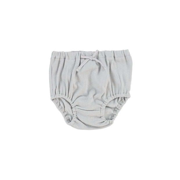Lil Legs Rib Bloomers - Light Grey