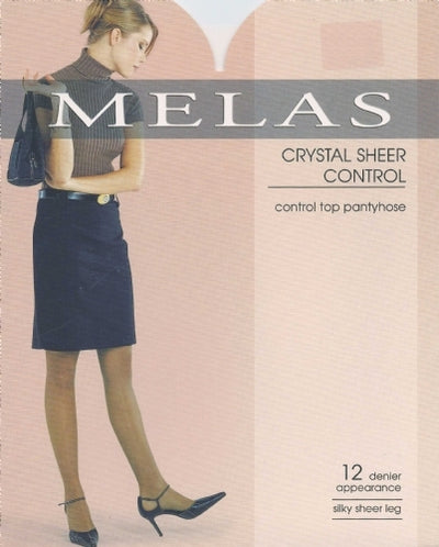 Melas Crystal Control 12 Denier Stockings AS609