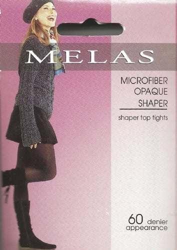 Melas Microfiber Opaque Shaper 60 Denier Tights AT-713