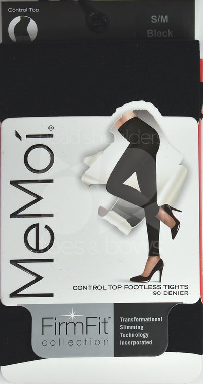Memoi Firm n Fit 90 Denier Footless Tights MO-893