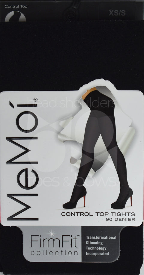 Memoi Firm and Fit 90 Denier Control Tights MO-892