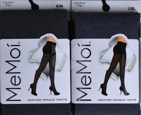 Memoi Ladies Opaque Heather Tights MO-386
