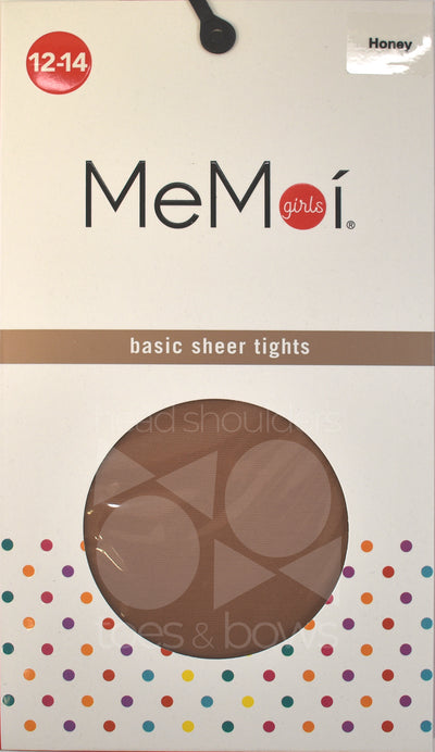 Memoi Girls 20 Denier Sheer Stockings MK-303