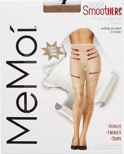 Memoi Body SmootHers Girdle at the Top Sheers Stockings MM-286