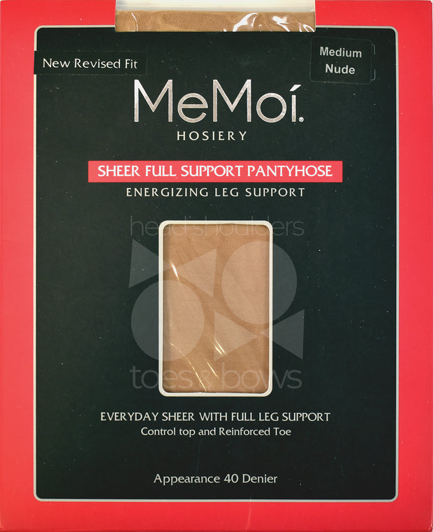 Memoi Full Support 40 Denier Sheer Stockings MS-620