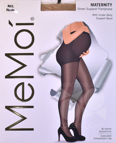 Memoi Maternity 40 Denier Support Stockings MA-402