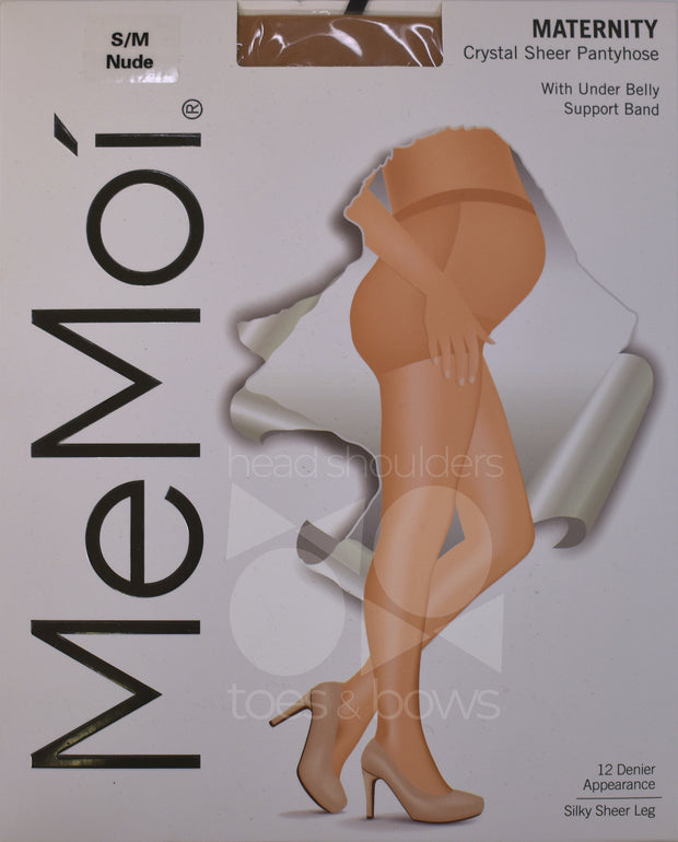 Memoi Maternity 12 Denier Sheer Stockings MA-401