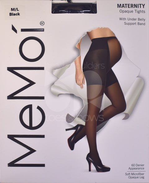 Memoi Maternity 60 Denier Opaque Tights MA-404
