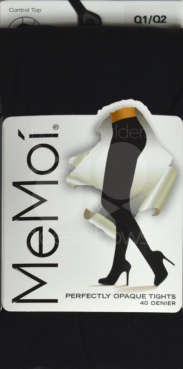 Memoi Ladies Perfect Opaque 40 Denier Tights MO-312