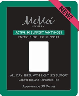 Memoi Active 30 Denier Support Pantyhose MS-655