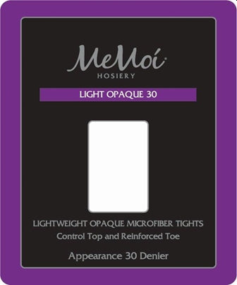 Memoi Light Opaque 30 Denier Tights MS-630