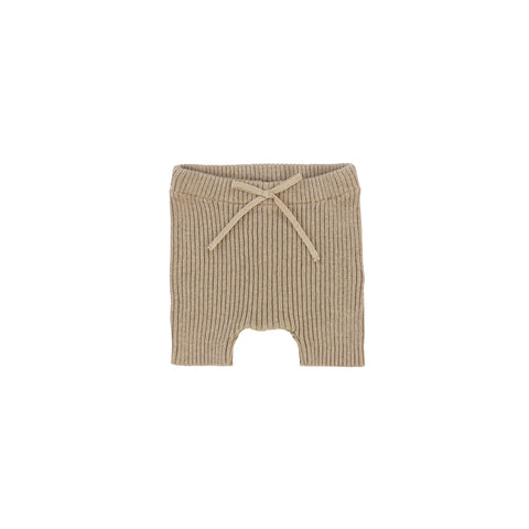 Analogie Knit Shorts - Oatmeal