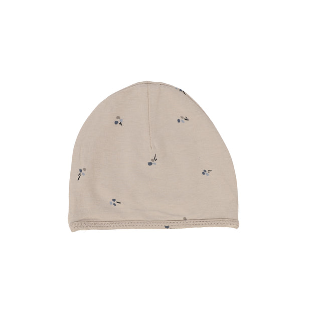 Lillette Poppy Beanie - Pale Taupe/Pewter