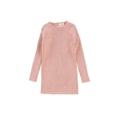 Analogie Long Sleeve Knit Sweater - Pink