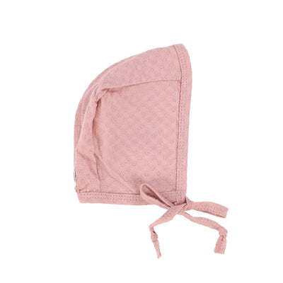 Analogie Pointelle Bonnet - Pink
