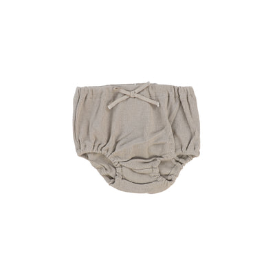 Lil Legs Rib Bloomers - Taupe