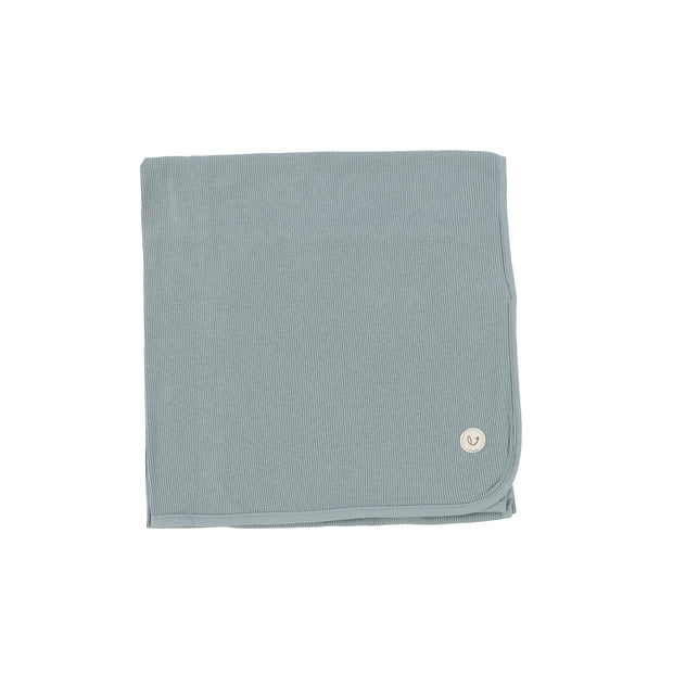 Lillette Ribbed Classic Blanket - Teal