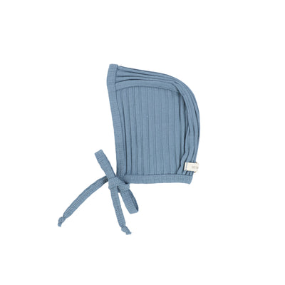 Lil Legs Wide Ribbed Bonnet - Very Blue