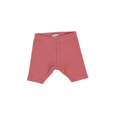 Lil Legs Ribbed Shorts - Watermelon Pink