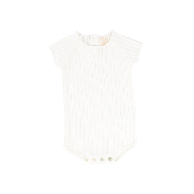Analogie Knit Romper - White