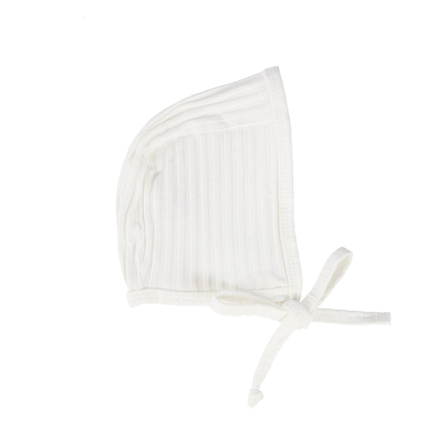 Analogie Wide Rib Bonnet - Winter White