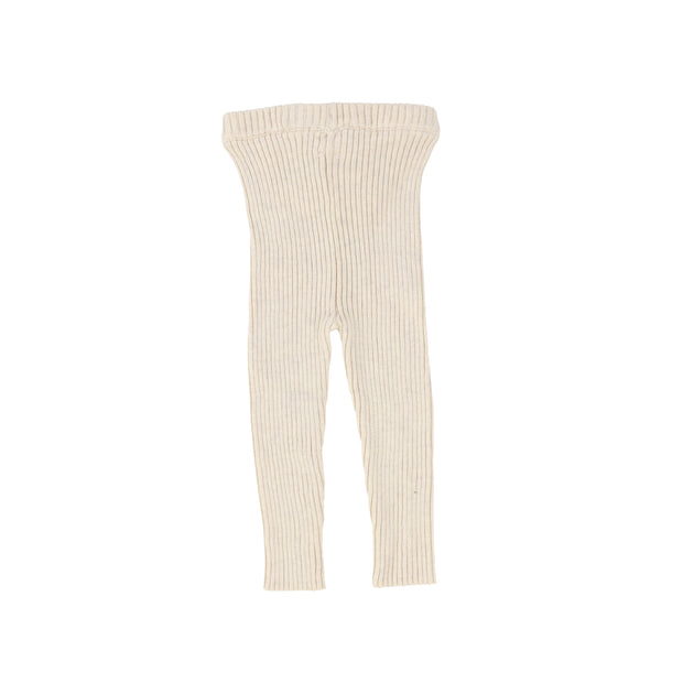 Analogie Knit Long Leggings - Vintage Ecru AW20