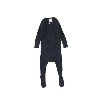 Analogie Knit Footie - Black AW20