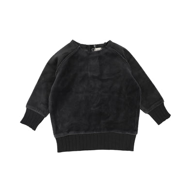 Analogie Velour Sweater - Grey AW20