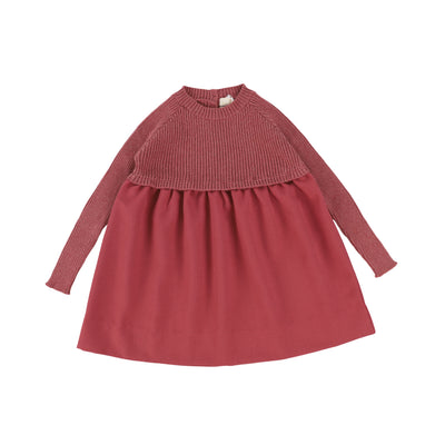 Analogie Knit Dress - Mauve AW20