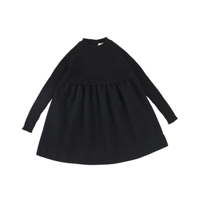 Analogie Knit Dress - Black AW20