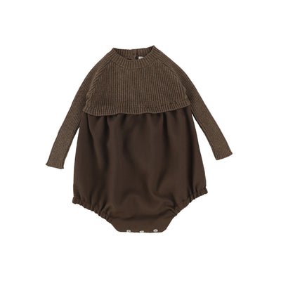 Analogie Knit Bubble - Dark Walnut AW20