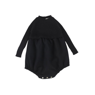 Analogie Knit Bubble - Black AW20
