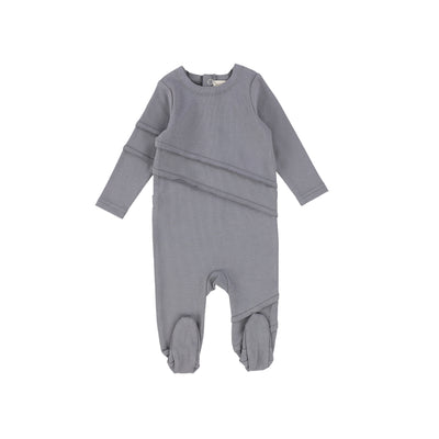 Analogie Cotton Footie - Soft Grey AW20