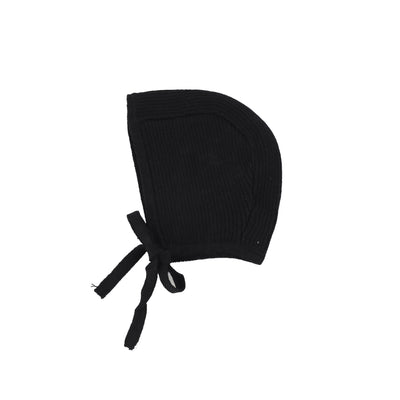 Analogie Knit Bonnet - Black AW20