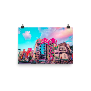 Shibuya In Color // Poster