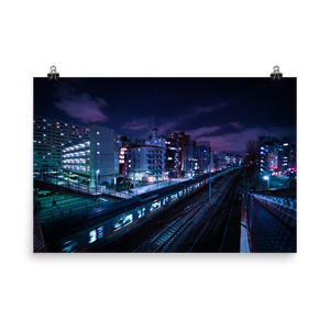 Night City // Ebisu // Poster