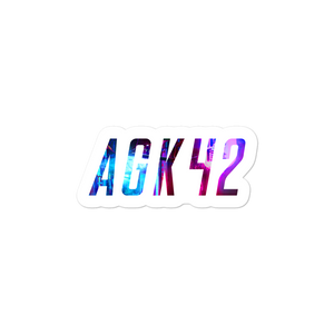 AGK42 Logo Sticker //