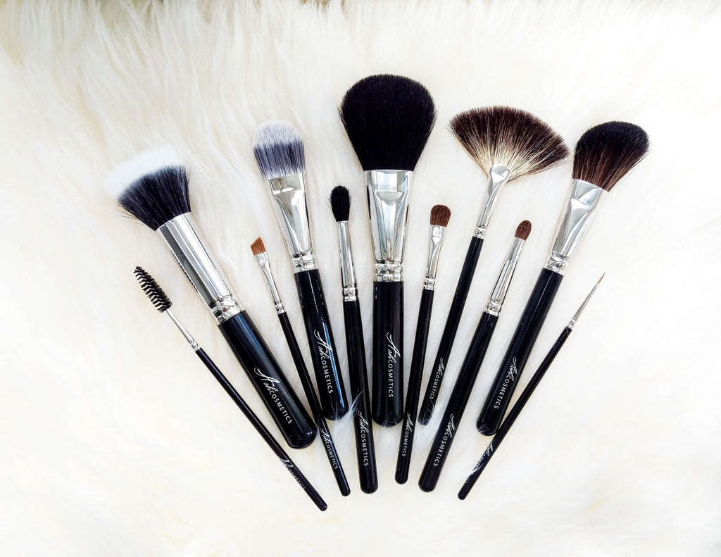 12 Piece Brush Set - Ashcosmetics