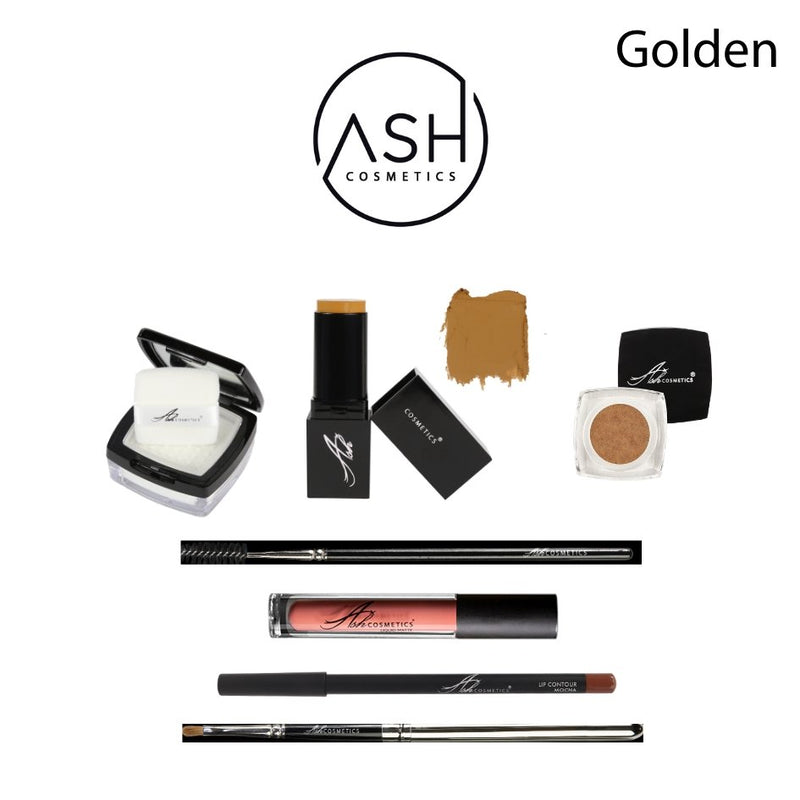 AshcosmeticsMake-up Home Kit Golden