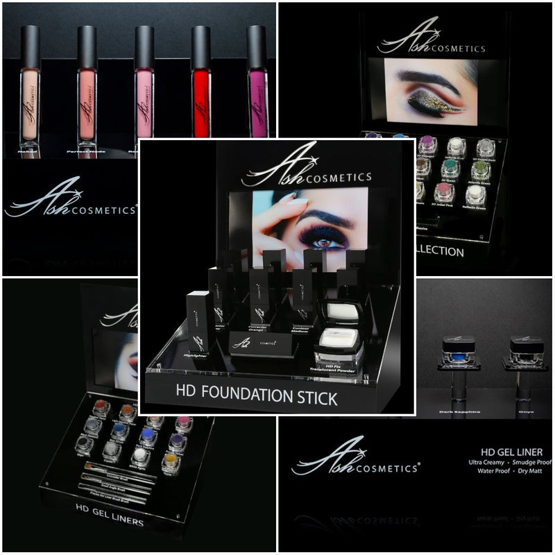 Complete Salon Roll Out Including Displays - Ashcosmetics