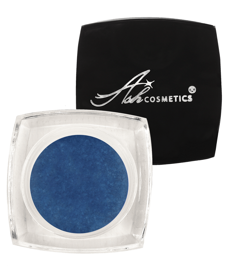 Cream Eye Shadow Glamour Pot Shade Blue Zircon - Ashcosmetics