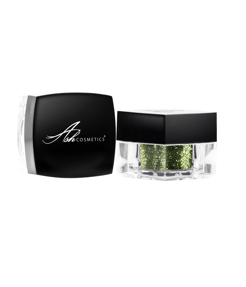 Glitter Eyeshadow Atlantis Green - Ashcosmetics