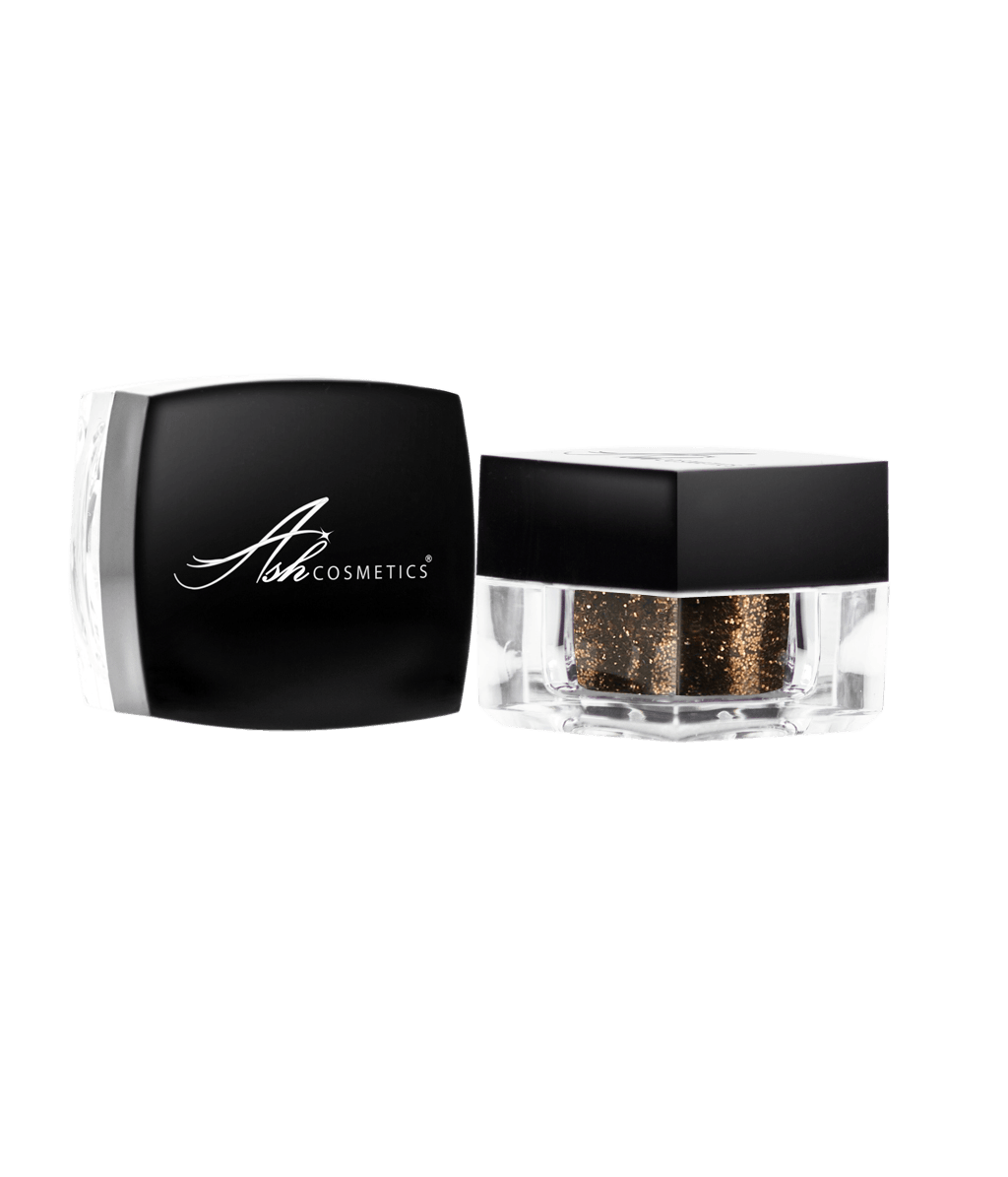 Glitter Eyeshadow Bronze - Ashcosmetics