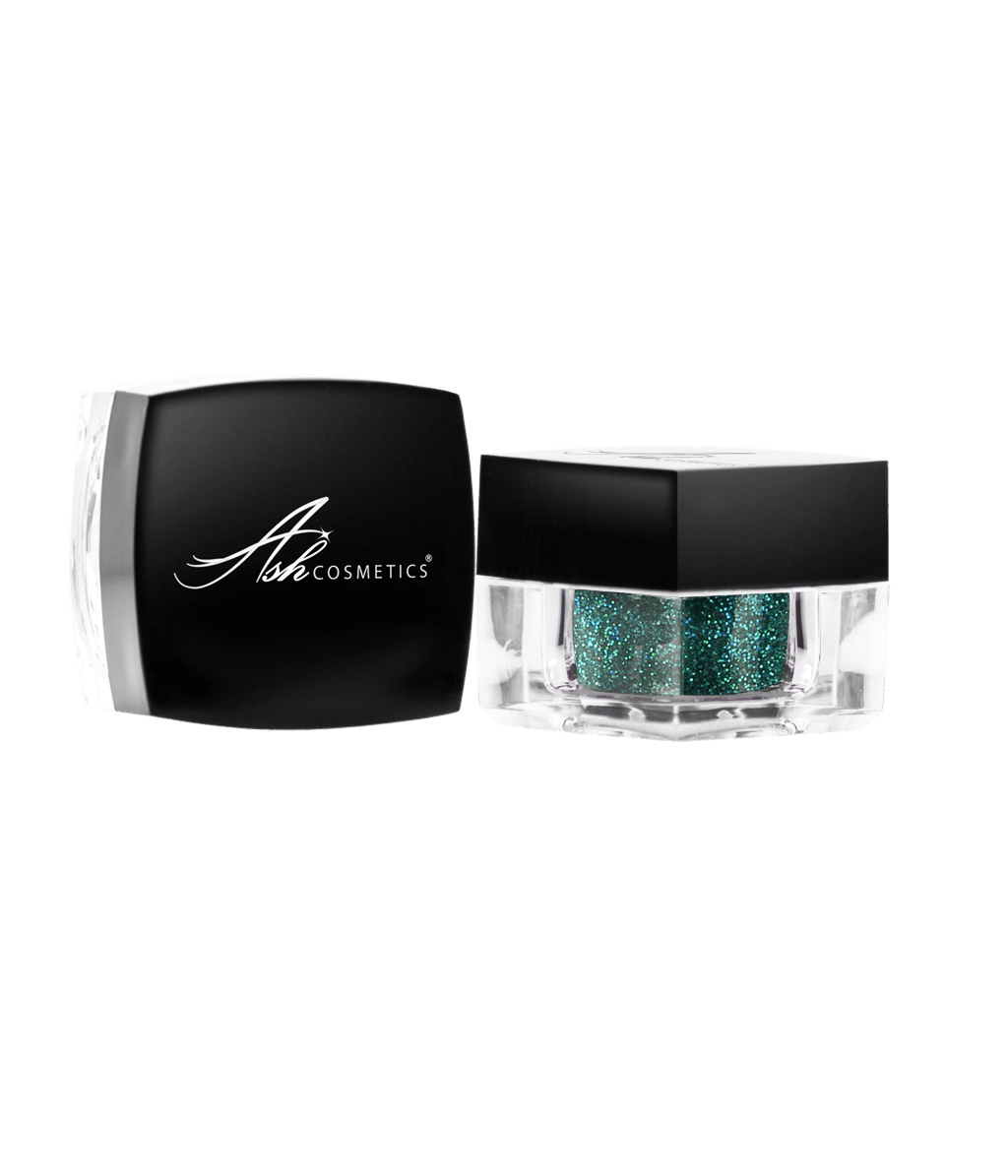 Glitter Eyeshadow Green - Ashcosmetics