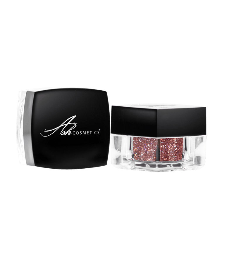 Glitter Eyeshadow Jewel Pink - Ashcosmetics