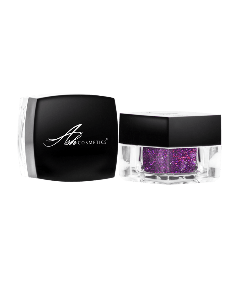 Glitter Eyeshadow Purpilicious - Ashcosmetics